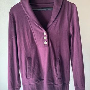 Banana Republic button sweater • S